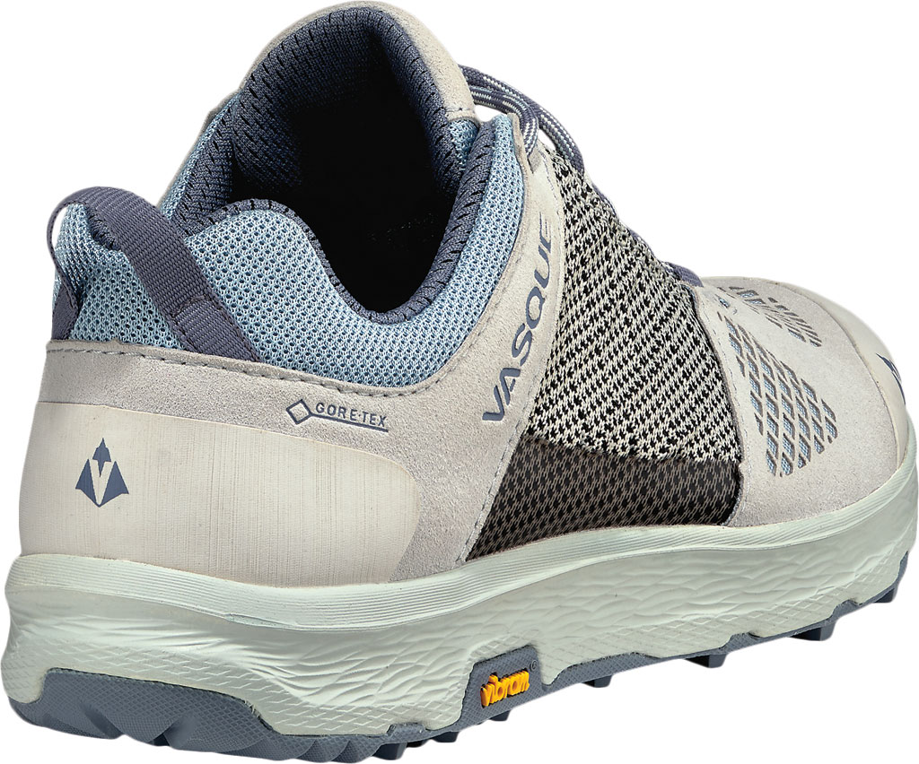Women's Vasque Breeze LT Low GORE-TEX Sneaker, Lunar Rock/Celestial Blue, large, image 4
