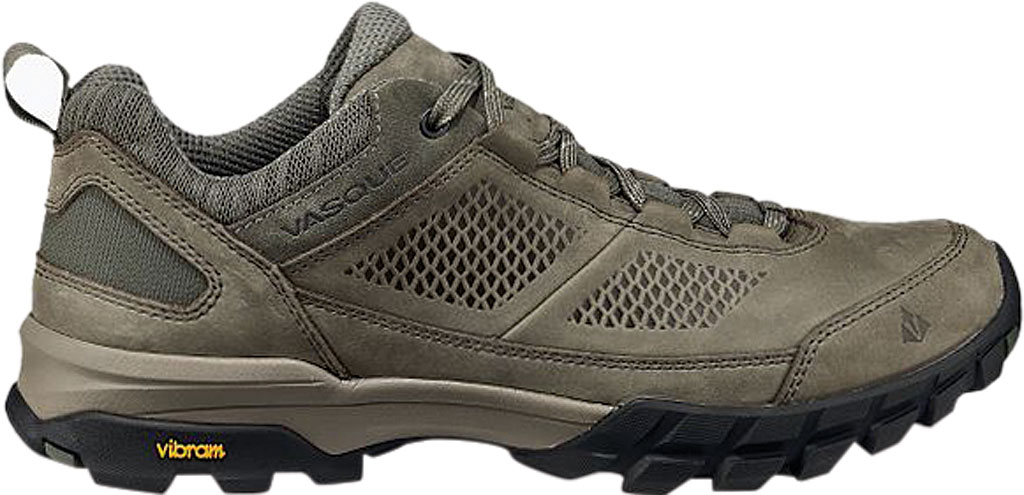 Men's Vasque Talus AT Low Hiking Shoe, Dusty Olive/Chive Waterproof Nubuck/Mesh, large, image 2