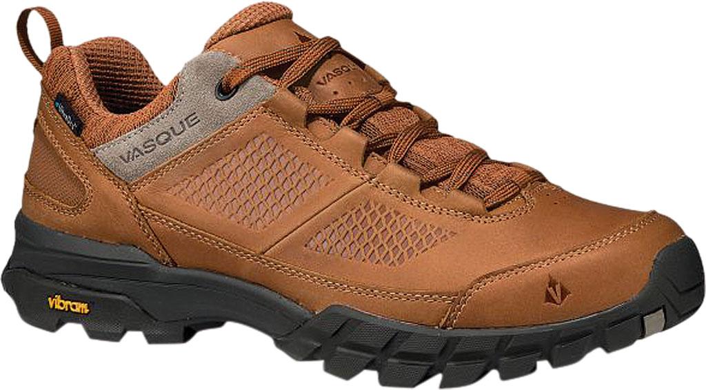 Men's Vasque Talus AT Low UltraDry Hiking Shoe, Glazed Ginger/Brindle Waterproof Nubuck/Mesh, large, image 1