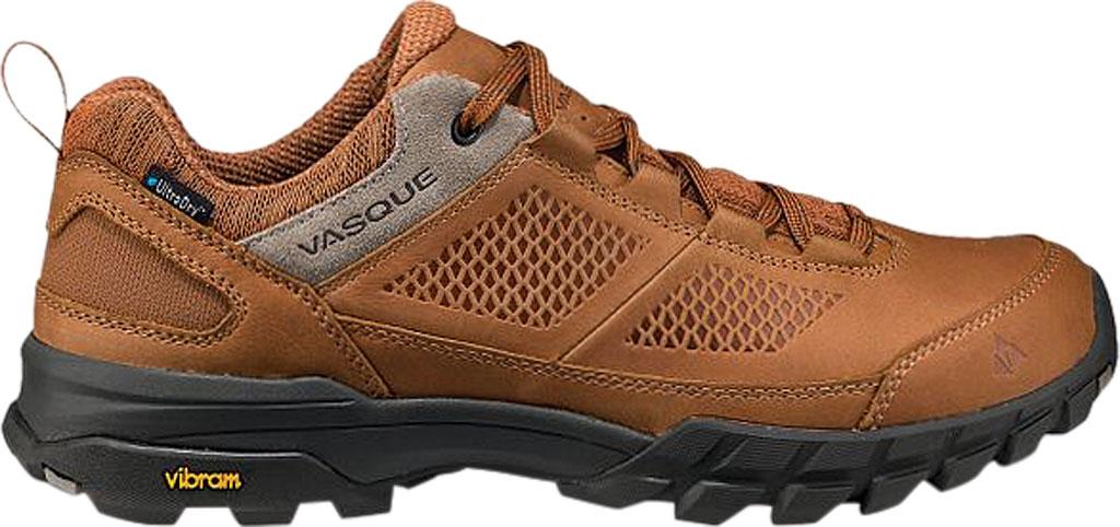 Men's Vasque Talus AT Low UltraDry Hiking Shoe, Glazed Ginger/Brindle Waterproof Nubuck/Mesh, large, image 2