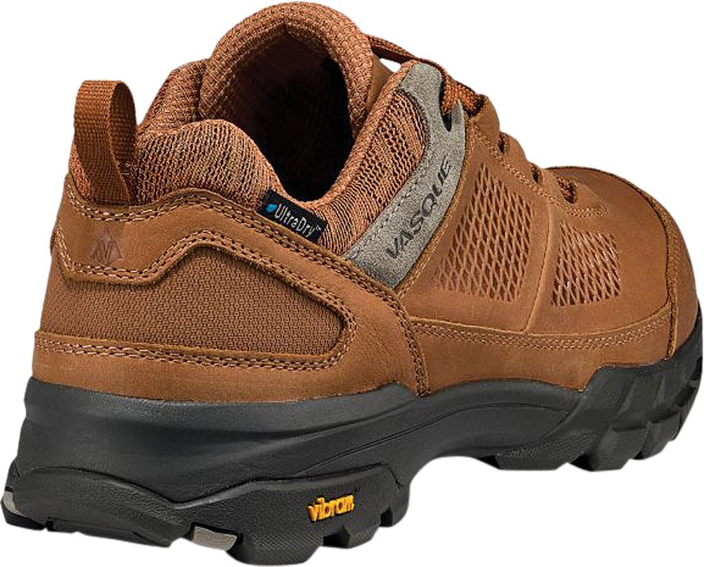 Men's Vasque Talus AT Low UltraDry Hiking Shoe, Glazed Ginger/Brindle Waterproof Nubuck/Mesh, large, image 4