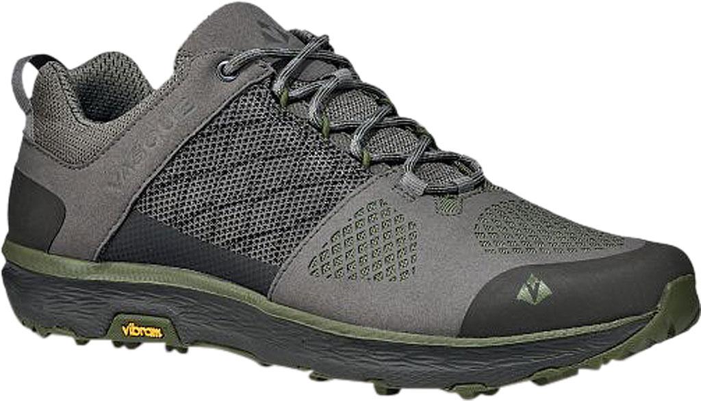 Men's Vasque Breeze LT Low Sneaker, Gargoyle/Chive Microfiber/Mesh, large, image 1