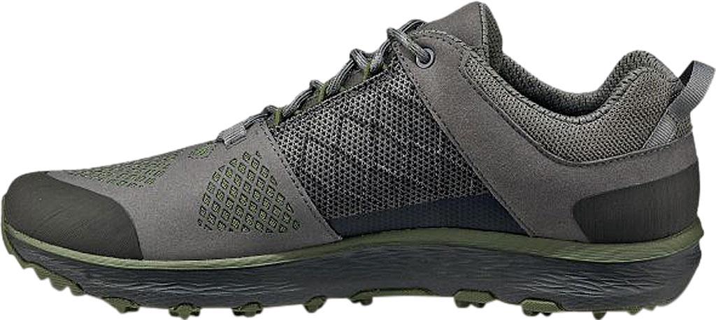 Men's Vasque Breeze LT Low Sneaker, Gargoyle/Chive Microfiber/Mesh, large, image 3