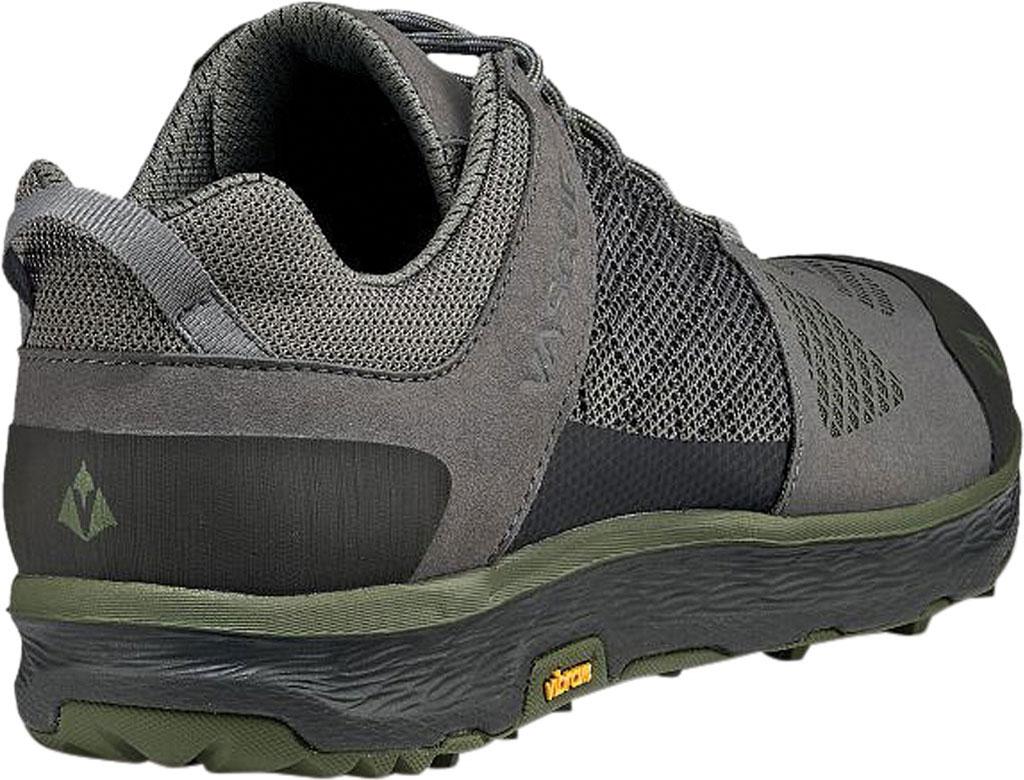 Men's Vasque Breeze LT Low Sneaker, Gargoyle/Chive Microfiber/Mesh, large, image 4