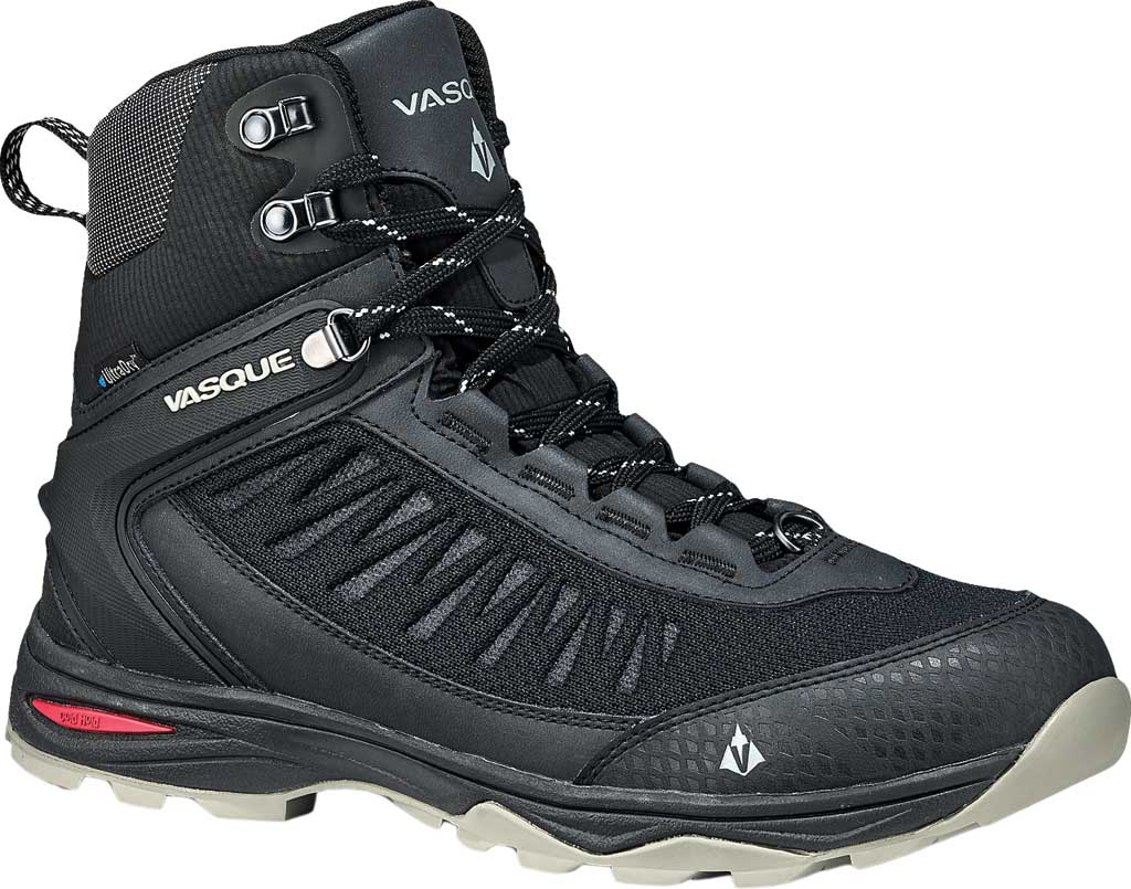 Men's Vasque Coldspark UltraDry Hiker Boot, Anthracite/Grey Waterproof Leather, large, image 1