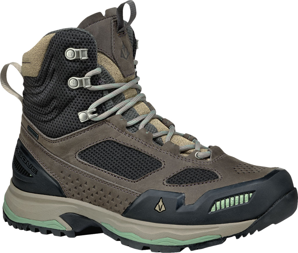Women's Vasque Breeze AT GTX Waterproof Hiking Boot, Magnet/Basil, large, image 1