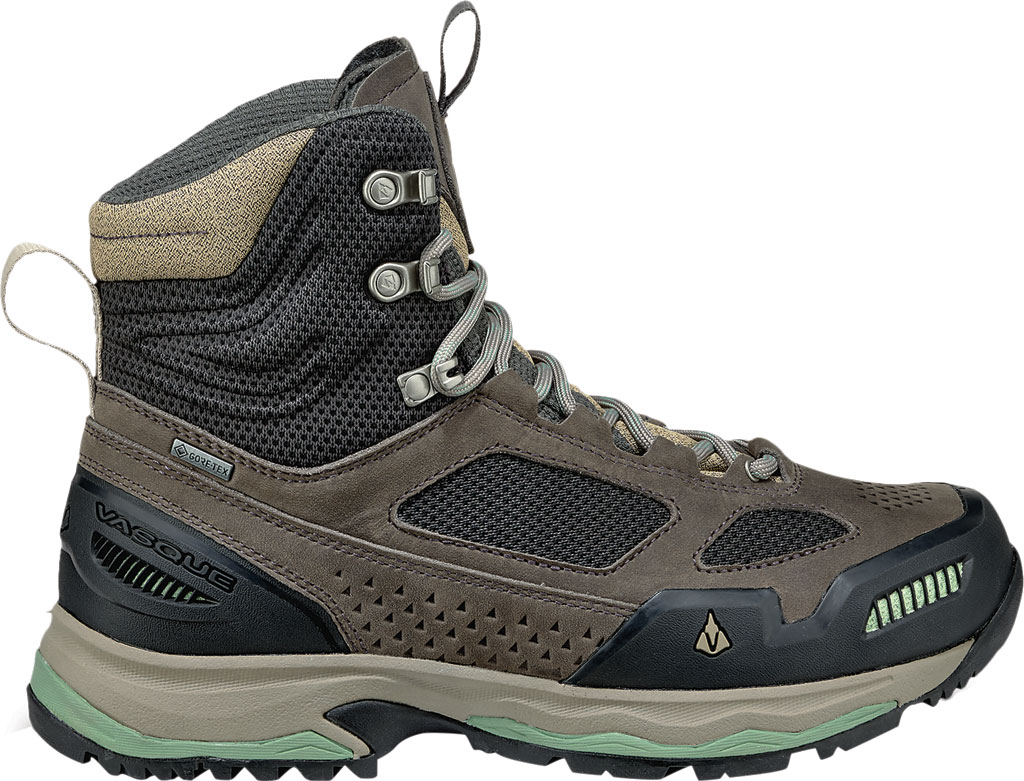 Women's Vasque Breeze AT GTX Waterproof Hiking Boot, Magnet/Basil, large, image 2