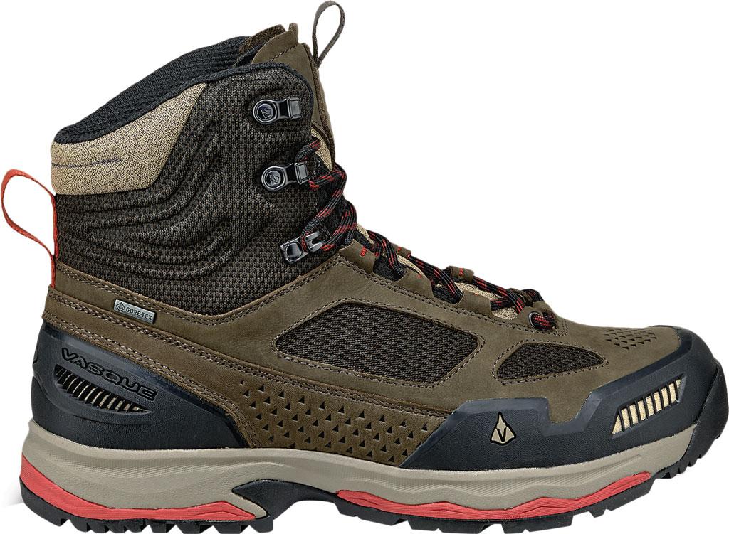 Men's Vasque Breeze AT GTX Waterproof Hiking Boot, Brown Olive/Bossa Nova, large, image 2