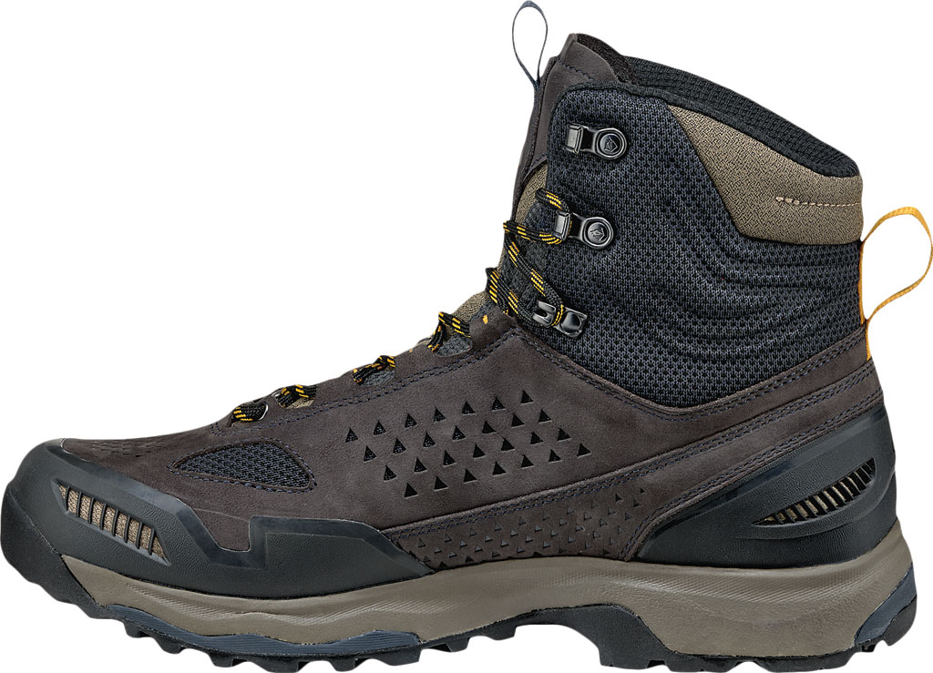 Men's Vasque Breeze AT GTX Waterproof Hiking Boot, Ebony/Tawny Olive, large, image 3