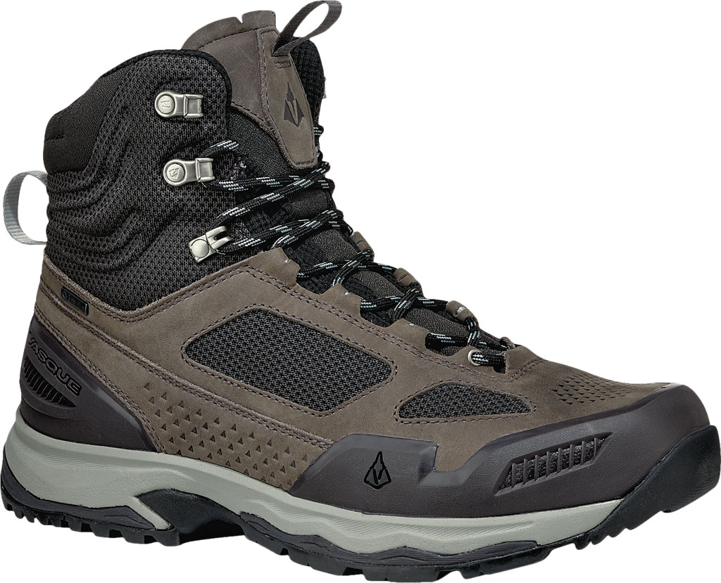 Men's Vasque Breeze AT GTX Waterproof Hiking Boot, Magnet/Drizzle, large, image 1