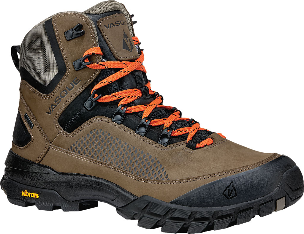 Men's Vasque Talus XT GTX Hiking Boot, Brindle/Flame, large, image 1