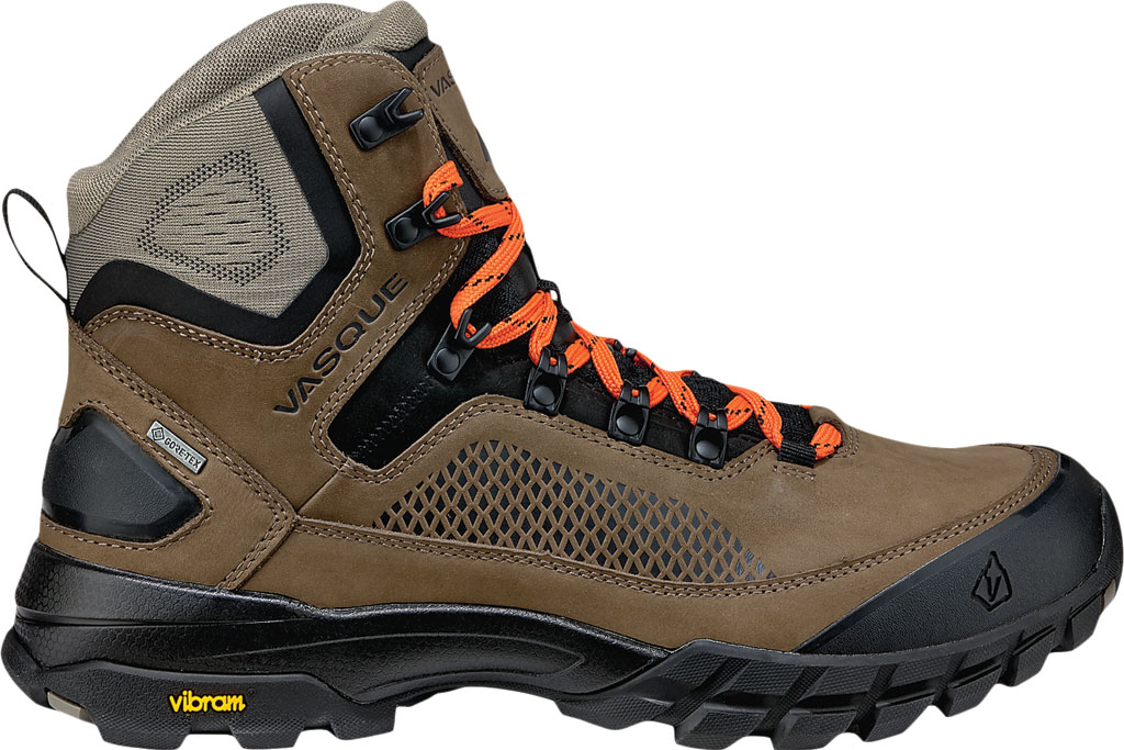 Men's Vasque Talus XT GTX Hiking Boot, Brindle/Flame, large, image 2