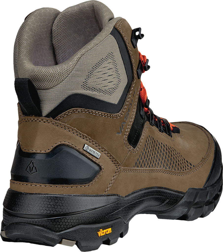 Men's Vasque Talus XT GTX Hiking Boot, Brindle/Flame, large, image 4