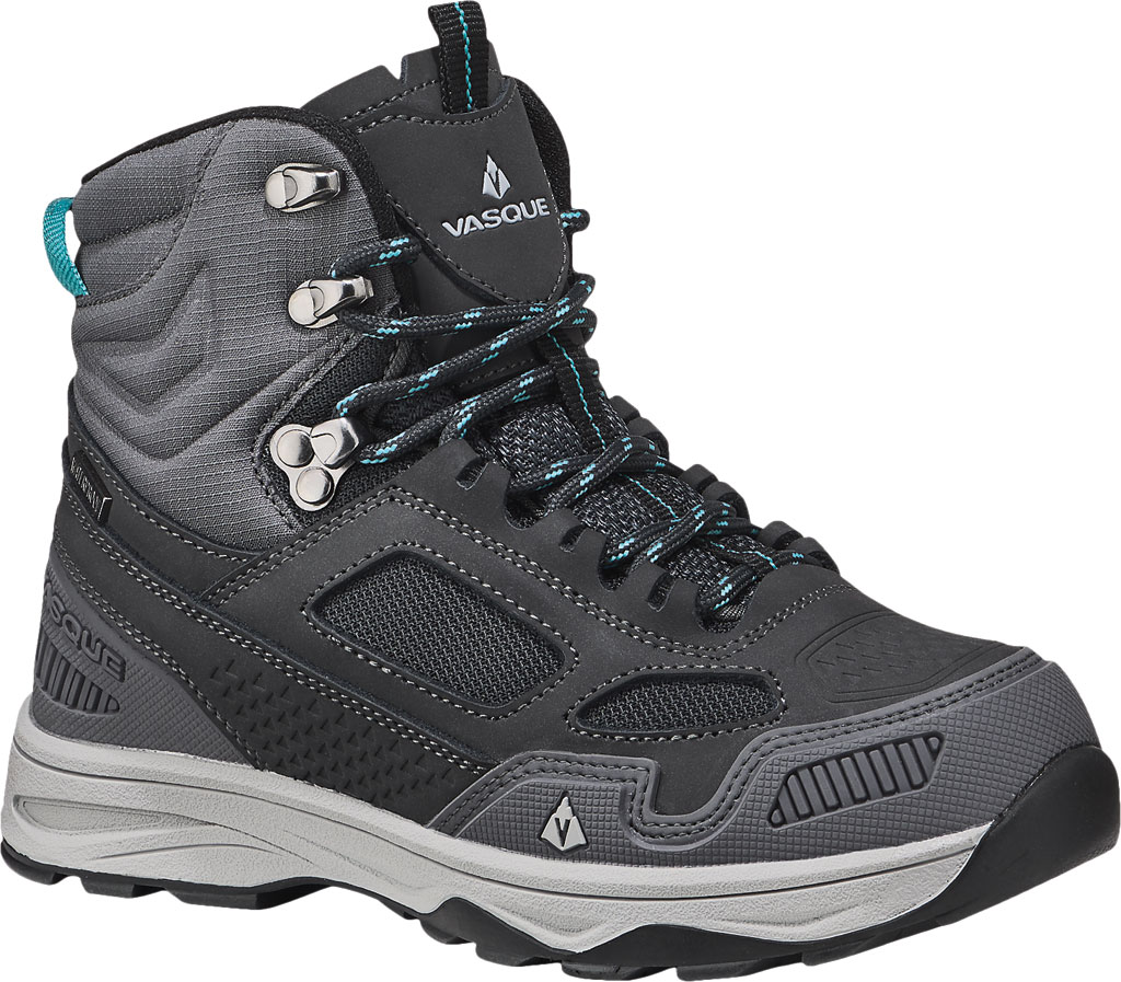 Children's Vasque Breeze AT UltraDry Hiking Boot, Magnet/Baltic, large, image 1