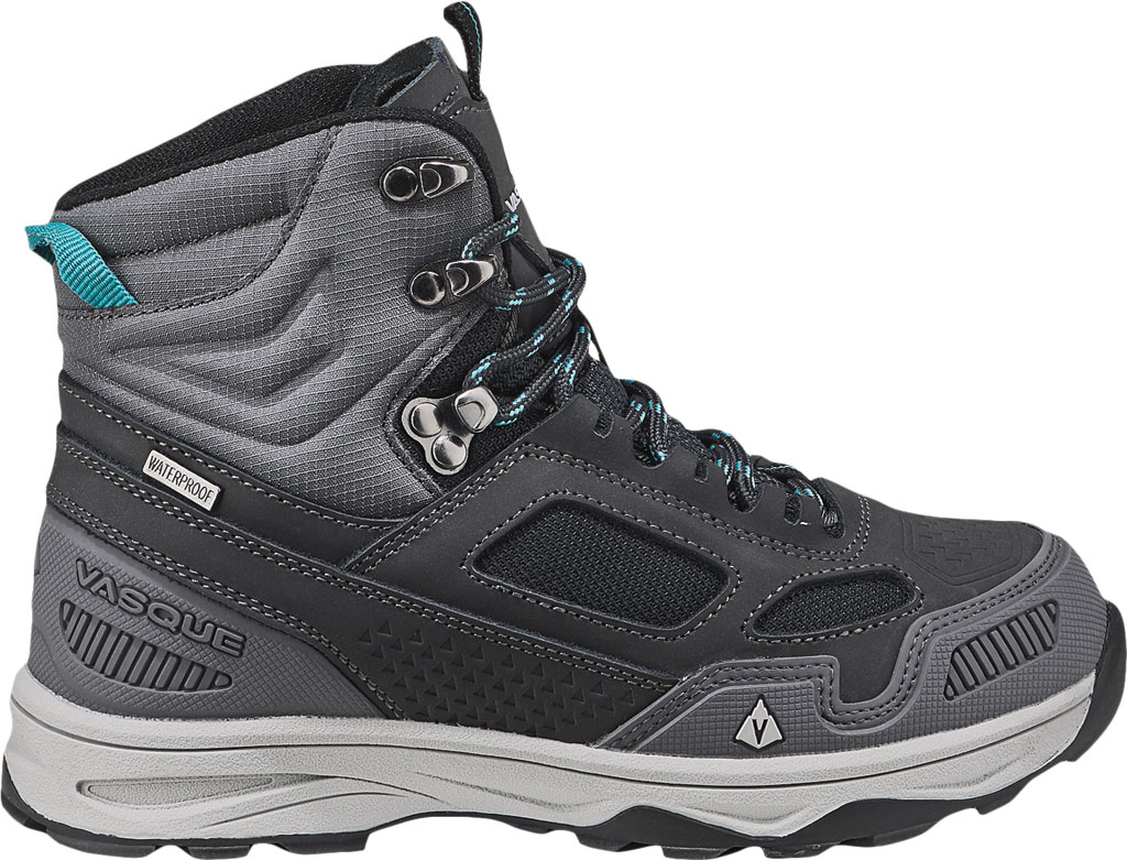 Children's Vasque Breeze AT UltraDry Hiking Boot, Magnet/Baltic, large, image 2