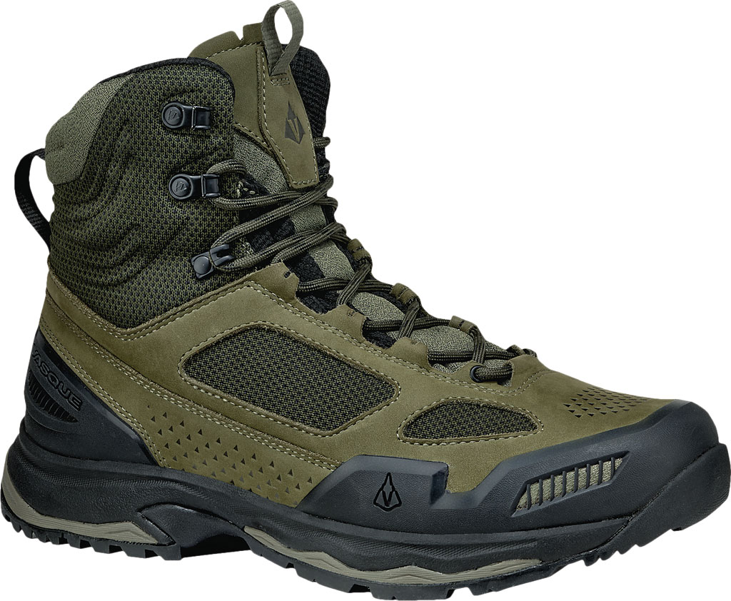Men's Vasque Breeze AT Hiking Boot, Dusty Olive/Jet Black, large, image 1