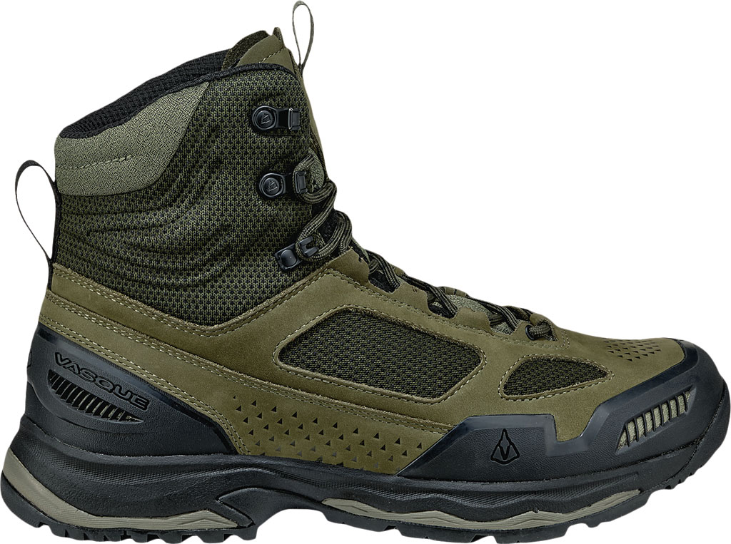Men's Vasque Breeze AT Hiking Boot, Dusty Olive/Jet Black, large, image 2