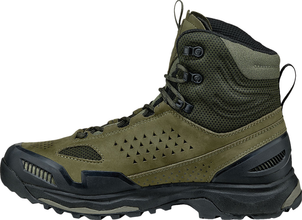 Men's Vasque Breeze AT Hiking Boot, Dusty Olive/Jet Black, large, image 3