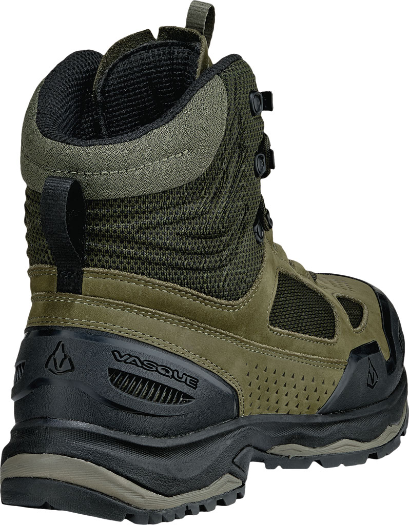 Men's Vasque Breeze AT Hiking Boot, Dusty Olive/Jet Black, large, image 4