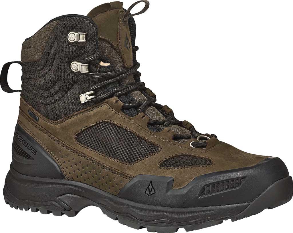 Men's Vasque Breeze WT GORE-TEX Hiking Boot, Brown Olive Waterproof Nubuck/Air Mesh, large, image 1