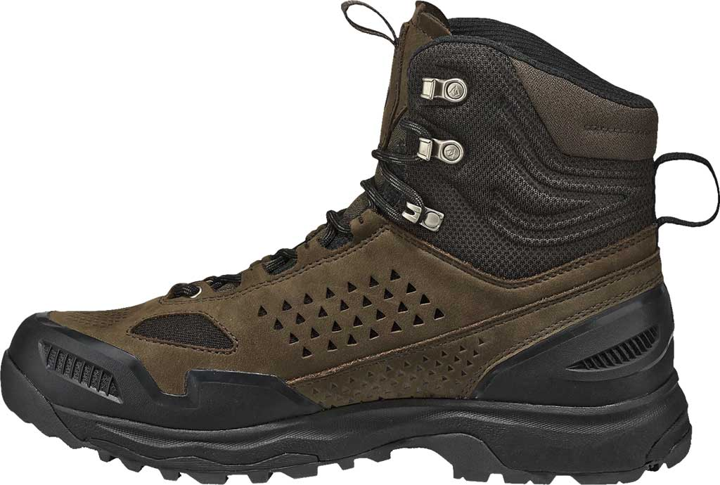 Men's Vasque Breeze WT GORE-TEX Hiking Boot, Brown Olive Waterproof Nubuck/Air Mesh, large, image 3