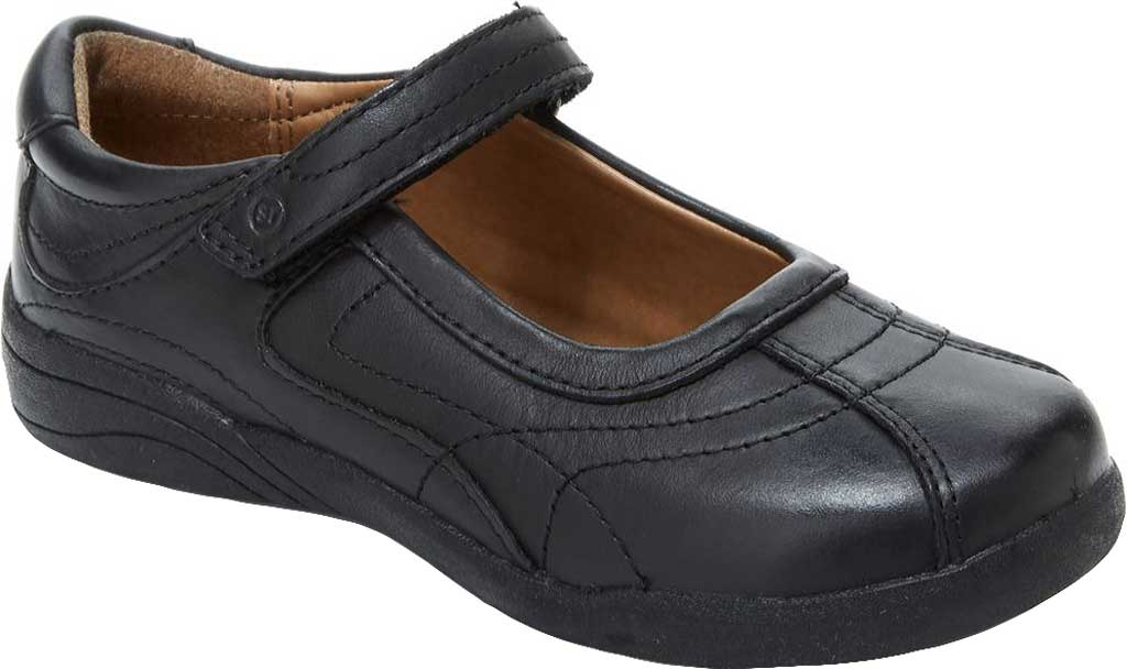 Infant Girls' Stride Rite Claire, Black Leather, large, image 1