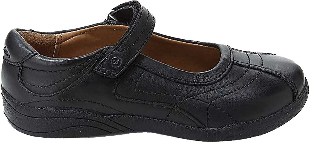 Infant Girls' Stride Rite Claire, Black Leather, large, image 2
