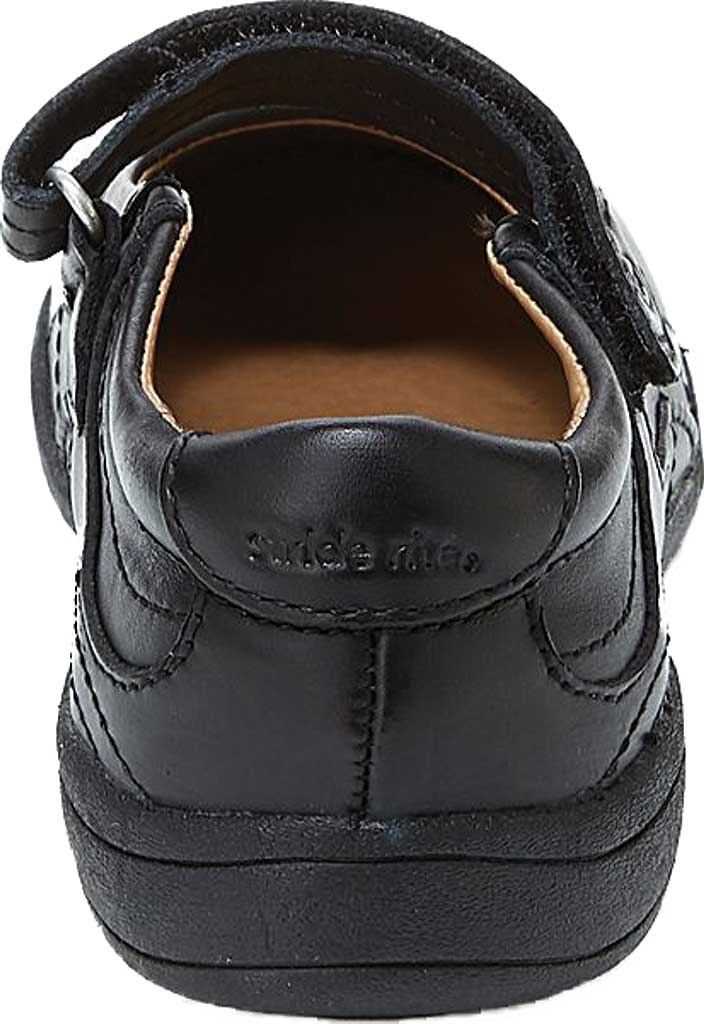 Infant Girls' Stride Rite Claire, Black Leather, large, image 4