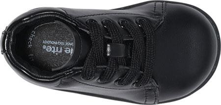 Infant Boys' Stride Rite SRT Elliot, Black Leather, large, image 3