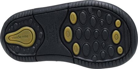 Infant Boys' Stride Rite SRT Elliot, Black Leather, large, image 4