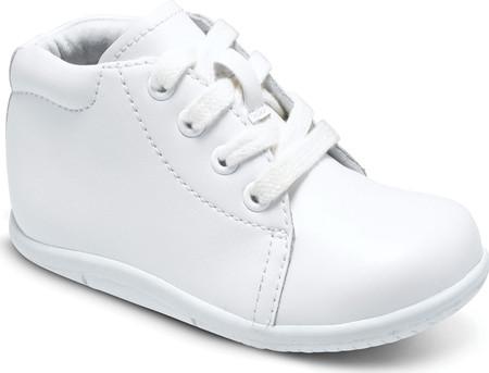 Infant Boys' Stride Rite SRT Elliot, White Leather, large, image 1