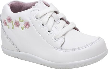 Infant Girls' Stride Rite SRT Emilia, White Leather, large, image 1