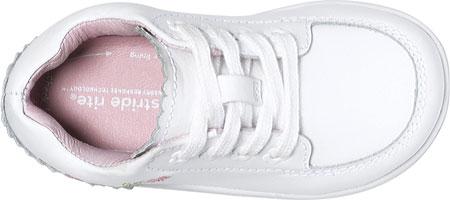 Infant Girls' Stride Rite SRT Emilia, White Leather, large, image 3