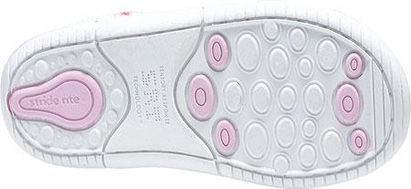 Infant Girls' Stride Rite SRT Emilia, White Leather, large, image 4