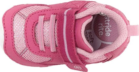 Infant Stride Rite SM Jamie Sneaker, Pink Leather, large, image 5
