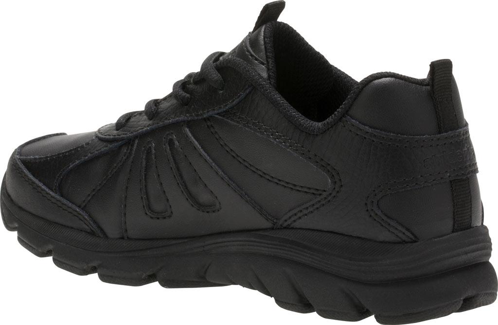 Boys' Stride Rite Cooper 2.0 Lace Sneaker - Preschool, Black Leather, large, image 3