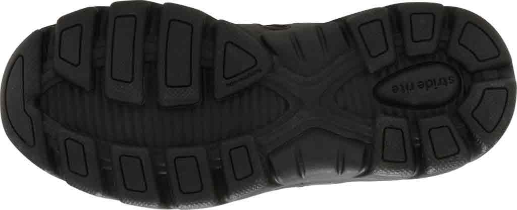 Boys' Stride Rite Cooper 2.0 Lace Sneaker - Preschool, Black Leather, large, image 4