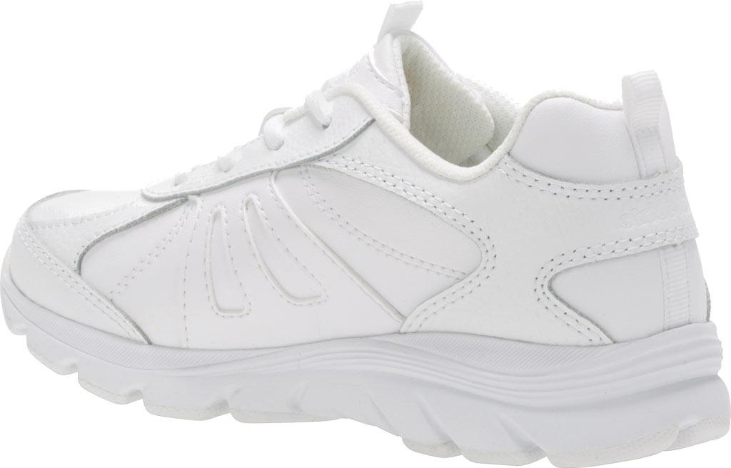 Boys' Stride Rite Cooper 2.0 Lace Sneaker - Preschool, White Leather, large, image 3
