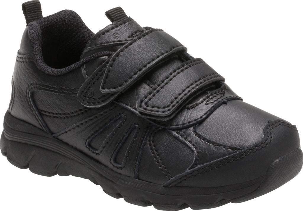 Infant Boys' Stride Rite Cooper 2.0 Hook and Loop Sneaker - Toddler, Black Leather, large, image 1