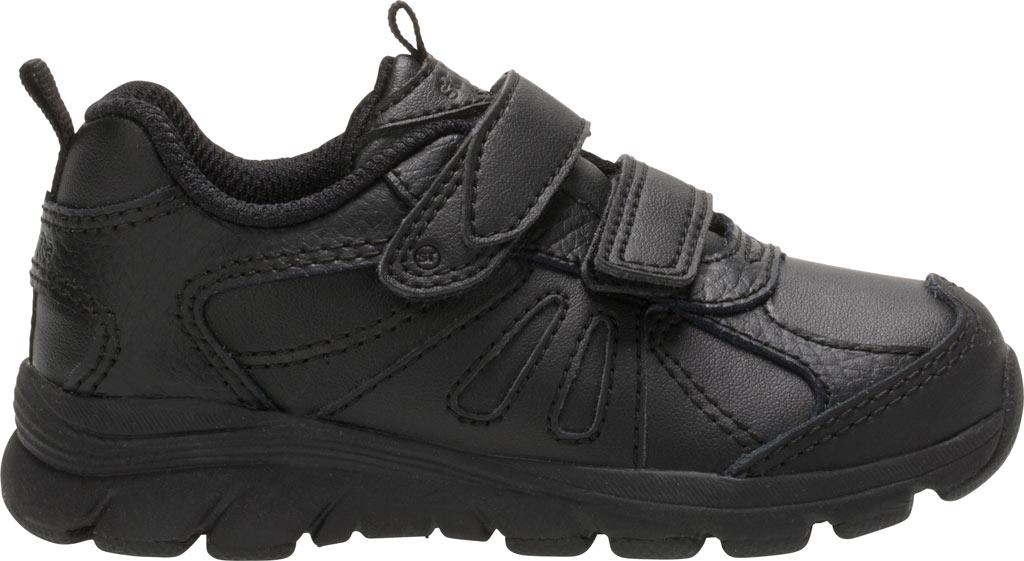 Infant Boys' Stride Rite Cooper 2.0 Hook and Loop Sneaker - Toddler, Black Leather, large, image 2