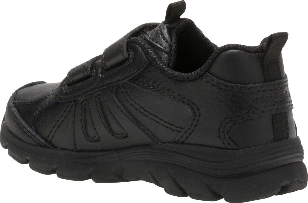 Infant Boys' Stride Rite Cooper 2.0 Hook and Loop Sneaker - Toddler, Black Leather, large, image 3