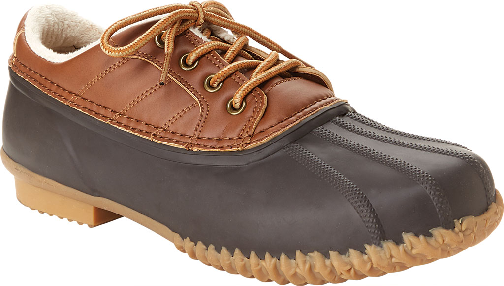 Men's Jambu JSport Bryson Weather-Ready Duck Shoe, Brown/Whiskey Brushed Vegan/Rubber, large, image 1