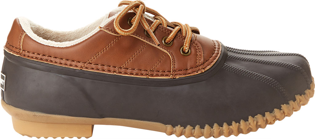 Men's Jambu JSport Bryson Weather-Ready Duck Shoe, Brown/Whiskey Brushed Vegan/Rubber, large, image 2