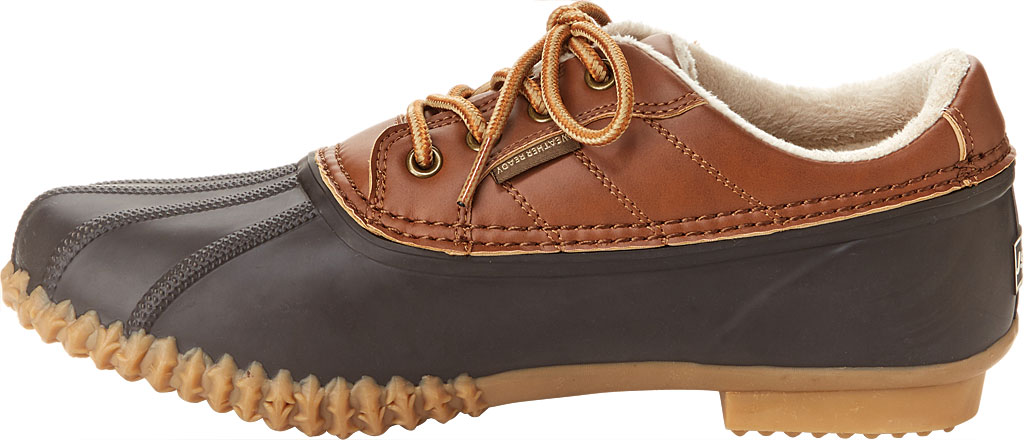 Men's Jambu JSport Bryson Weather-Ready Duck Shoe, Brown/Whiskey Brushed Vegan/Rubber, large, image 3