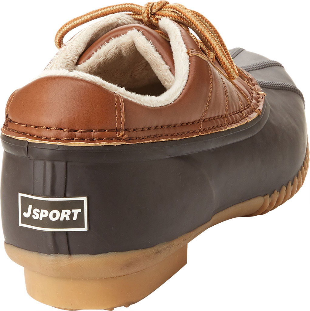 Men's Jambu JSport Bryson Weather-Ready Duck Shoe, Brown/Whiskey Brushed Vegan/Rubber, large, image 4