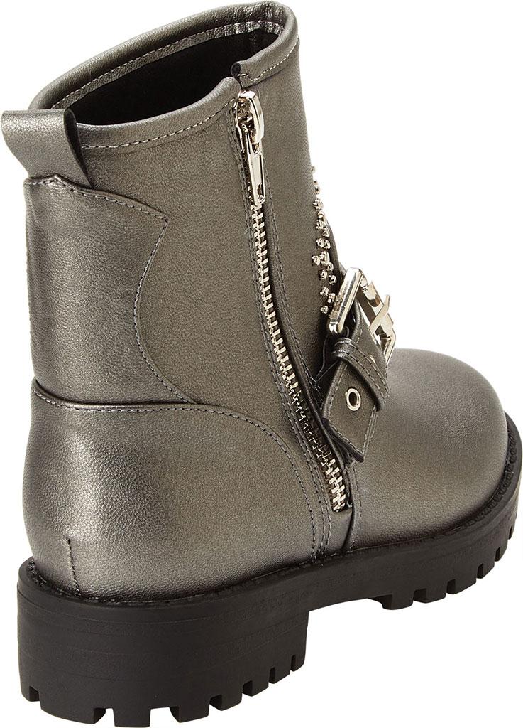 Girls' Esprit Rain Moto Boot, Pewter Polyurethane, large, image 3