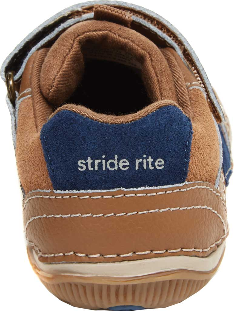 Infant Boys' Stride Rite SRT Wes Sneaker, Truffle Leather/Suede, large, image 4