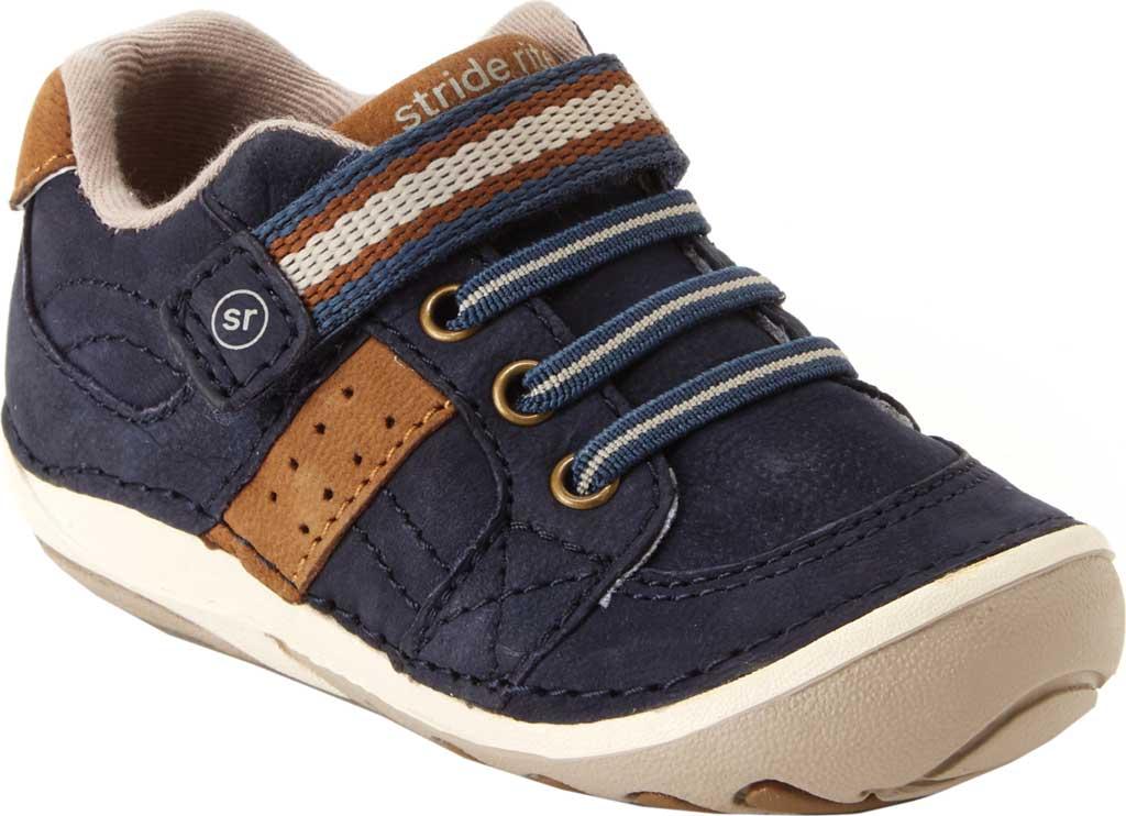 Infant Boys' Stride Rite SR Soft Motion Artie Sneaker Little Kid, Navy Leather, large, image 1