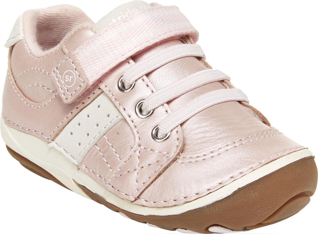 Infant Girls' Stride Rite SRT SM Artie Sneaker, Pink Leather, large, image 1