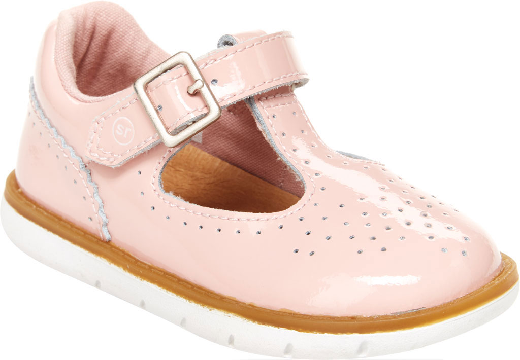 Infant Girls' Stride Rite SRT Nell Mary Jane, Pink Leather, large, image 1